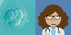 Me, then and now! Wasn't I a cute little clump of cells?